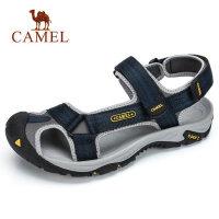 骆驼户外凉鞋春夏新品男拖鞋轻便魔术贴透气沙滩鞋运动休闲鞋