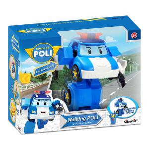 Silverlit 银辉 POLI系列 珀利遥控步行机器人 SVPOLI83090STD