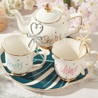 创意潮流陶瓷杯家用欧式咖啡杯马克杯子情侣茶杯一对家庭水杯套装a233