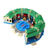 托马斯小火车套装轨道火车玩具电动合金通用配件转车台 抖音 官方标配