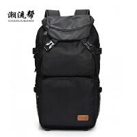 男士双肩包超大容量旅行包加大行李包户外登山包休闲野营旅游背包