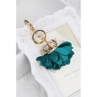 花球 水钻皇冠 汽车钥匙扣 包挂件挂饰 节日女韩版 链SN3235