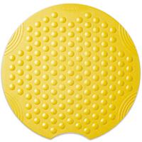RIDDER德国进口卫生间淋浴房浴室防滑垫吸盘浴缸防滑垫子洗澡地垫 黄色 圆形55cm【现货】