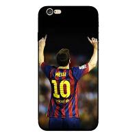 梅西苹果6s手机壳iPhong6Plus保护套C罗 内马尔 贝克汉姆足球软壳