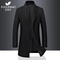 新年优惠【NEW】毛呢大衣中长款装西装领士呢子大衣修身羊毛风衣潮