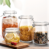 玻璃密封罐 储物罐 泡酒玻璃瓶子 泡菜坛子 玻璃罐子