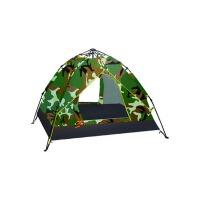 野外用品沙滩登山家庭迷彩帐篷单人帐篷户外3-4人双人露营装备
