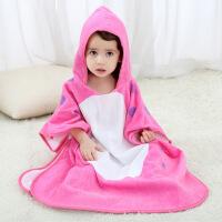 男童女童卡通动物造型浴袍宝宝浴衣儿童浴巾1-7岁婴童浴袍 适合1-7岁宝宝
