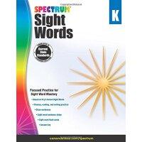 Spectrum Sight Words, Grade K 英文原版 Spectrum 常用词,幼儿园