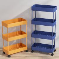 厨房置物架落地多层可移动夹缝收纳架用品家用大全调味料架省空间