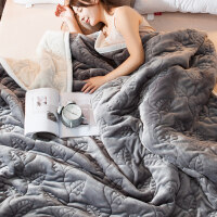 珊瑚绒毯子冬季加厚保暖法兰绒毛毯男学生单人宿舍女冬用被子双层
