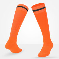 足球袜长筒毛巾底运动袜 男士足球长筒袜透气吸汗非过膝