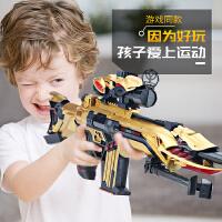 儿童玩具仿真穿越狙击步枪巴雷特可发射软弹男孩子10岁