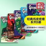 华研原版 经典鸡皮疙瘩系列5册 英文原版 Classic Goosebumps 英文版青少年恐怖小说 悬念大师斯坦代表