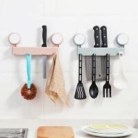 多功能吸盘刀架刀具架置物架厨房用品刀座菜刀架插放刀架子收纳架