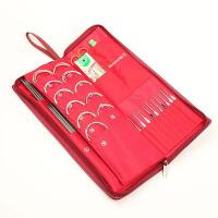 家用缝纫针织用品织毛衣编织工具套装毛线针不锈钢环形针钩针 5 单色