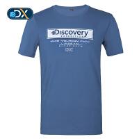 【折后价62.58】Discovery非凡探索户外2018春夏新品男式短袖T恤DAJG81170