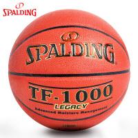 斯伯丁篮球TF-1000 PU高科技吸汗防滑Legacy室内篮球74-716A