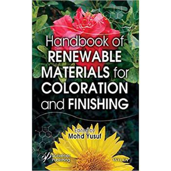 【预订】Handbook of Renewable Materials for Coloration and Finishing 9781119407751 美国库房发货,通常付款后3-5周到货!