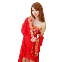 贵妃装性感制服小胸极度抹胸套装古典旗袍情趣内衣女sm血滴子