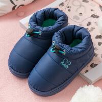 儿童棉拖秋冬季可爱防滑男童女童跟1-3岁5家居家室内小孩宝宝 儿童