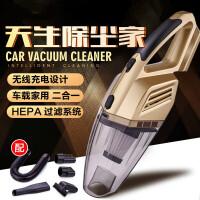 新款无线车载吸尘器家用车用两用充电手持无绳汽车干湿大功率 车载吸尘器