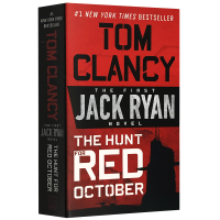 猎杀红十月号 英文原版小说 The Hunt for Red October Tom Clancy 汤姆克兰西杰克瑞安