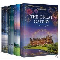 正版 英文原版小说全英版畅销书4册 了不起的盖茨比英文版+傲慢与偏见+呼啸山庄+1984 外国英语原著书籍英文版名著文