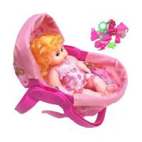 玩具摇篮 仿真娃娃床宝宝婴儿手推车秋千芭比公主 女孩过家家