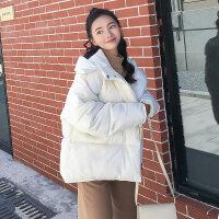 2018秋季新款冬季棉袄韩版学生bf原宿风面包服女短款宽松外套yly
