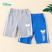 【99元3件】迪士尼Disney童装 男童短裤百搭休闲裤2020年夏季新品1-6岁五分裤