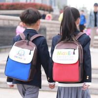 小学生书包定制印LOGO培训辅导补习班定做印字幼儿园儿童男女背包
