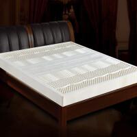 天然乳胶床垫双人1.5米1.8m5cm橡胶床垫10cm 10cm厚→85D平面款+内套 送乳胶枕