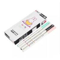 晨光中性笔0.35mm学生水笔可爱创意米菲系列FGPB3602水笔 黑