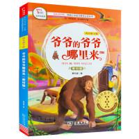 包邮2020春版 智慧熊有声朗读版快乐读书吧 爷爷的爷爷哪里来四年级下册教材版 4年级语文下册爷爷的爷爷哪里来