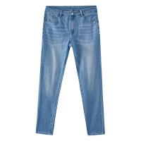 【5.16-5.17日抢购价:129.9】男修身小脚牛仔长裤