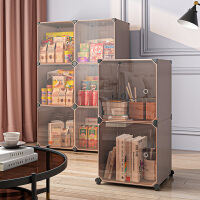 零食储物柜夹缝收纳置物架塑料房间整理窄户外家用客厅可移动卧室