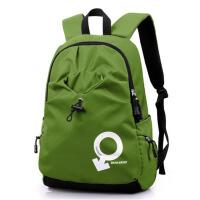女运动旅行包 高中学生书包 双肩包男士背包 休闲电脑包