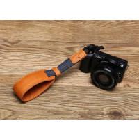 适用微单相机皮手腕带索尼A50005T 5R A6000GM1A5100NX2000手绳
