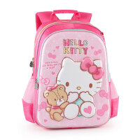 凯蒂猫hello kitty小学生背包女孩3-6-12周岁1-6年级公主书包减负