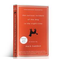 英文原版进口英语书籍 The Curious Incident of the Dog in the Night-Time 深夜小狗神秘事件 益智类侦探推理小说