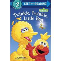 Twinkle, Twinkle, Little Bug (Sesame Street) 英文原版 芝麻街分级读物:闪