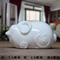 陶瓷12十二生肖羊摆件缺角镇宅招财风水山羊摆设工艺品家装饰品羊