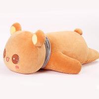 软趴趴熊陪你睡觉抱枕女床上布娃娃抱抱熊公仔可爱懒人熊毛绒玩具