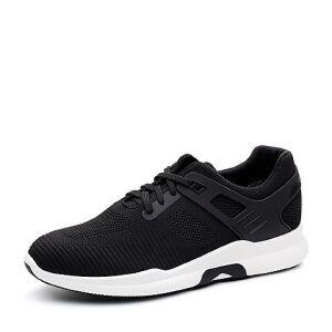 Teenmix/天美意2018春专柜同款布舒适平跟系带鞋男休闲鞋65C01AM8