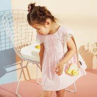 【1件2.5折到手价:63.8】米喜迪mecity童装宝宝女童婴儿公主裙甜美连衣裙夏