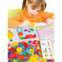 七巧板拼图智力儿童2-3-4-5-6岁幼儿益智男女孩木质早教宝宝玩具