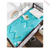 折叠床垫学生宿舍褥子单人床垫子1.2加厚0.9m寝室垫被地铺睡垫