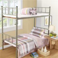 ???纯棉三件套学生宿舍件套全棉单人床单被套1.5米0.9m寝室床上用品