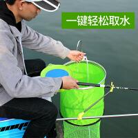 户外渔具用品钓鱼取水器抽水泵吸水器自动增氧泵充电感应打水器洗手器